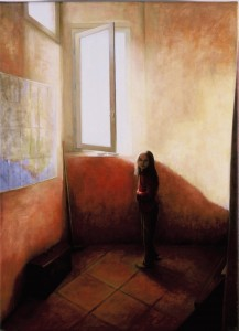 Remain in Light II (oil on canvas 56 x 43 cm 2002)