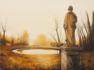 All in Stillness Stands (oil on canvas, 120 x 150 cm)  $6500